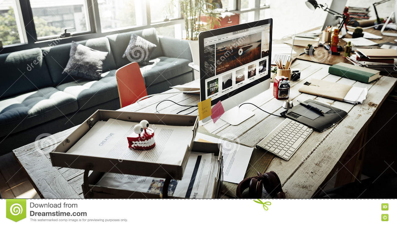 Workplace startup business management planning concept stock image image of plan marketing for Marketing plan for interior design business