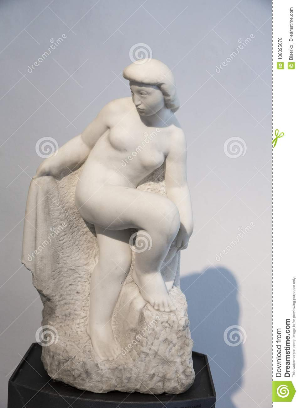 Works Of Croatian Sculptor Frano Krsinic Editorial Stock Photo