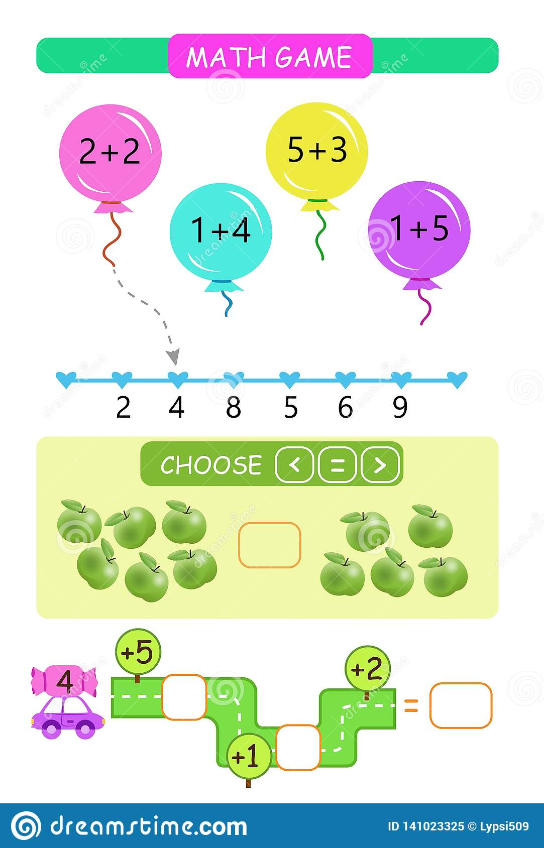 Worksheet. Counting Game. Learning Mathematics, Tasks For ...