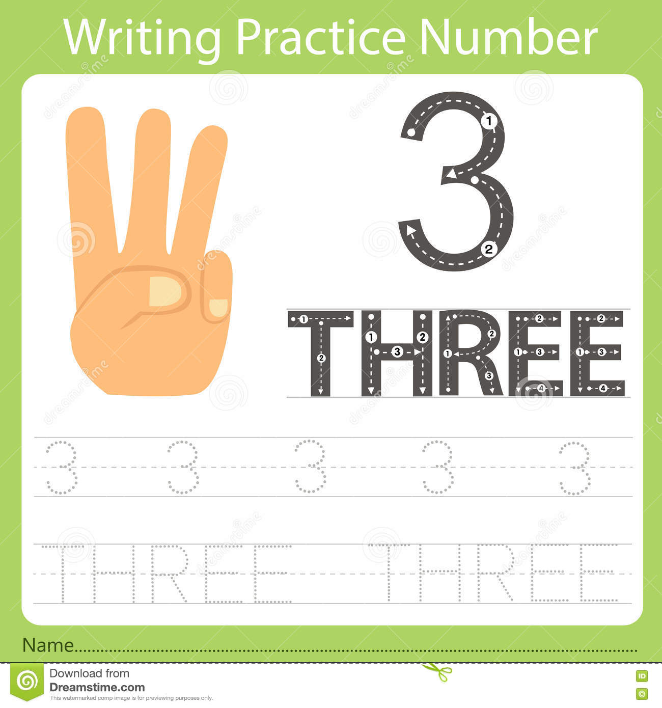 number writing Printable number line worksheets use the number lines to teach adding, subtracting, and number patterns  write the letter from the number line that corresponds.