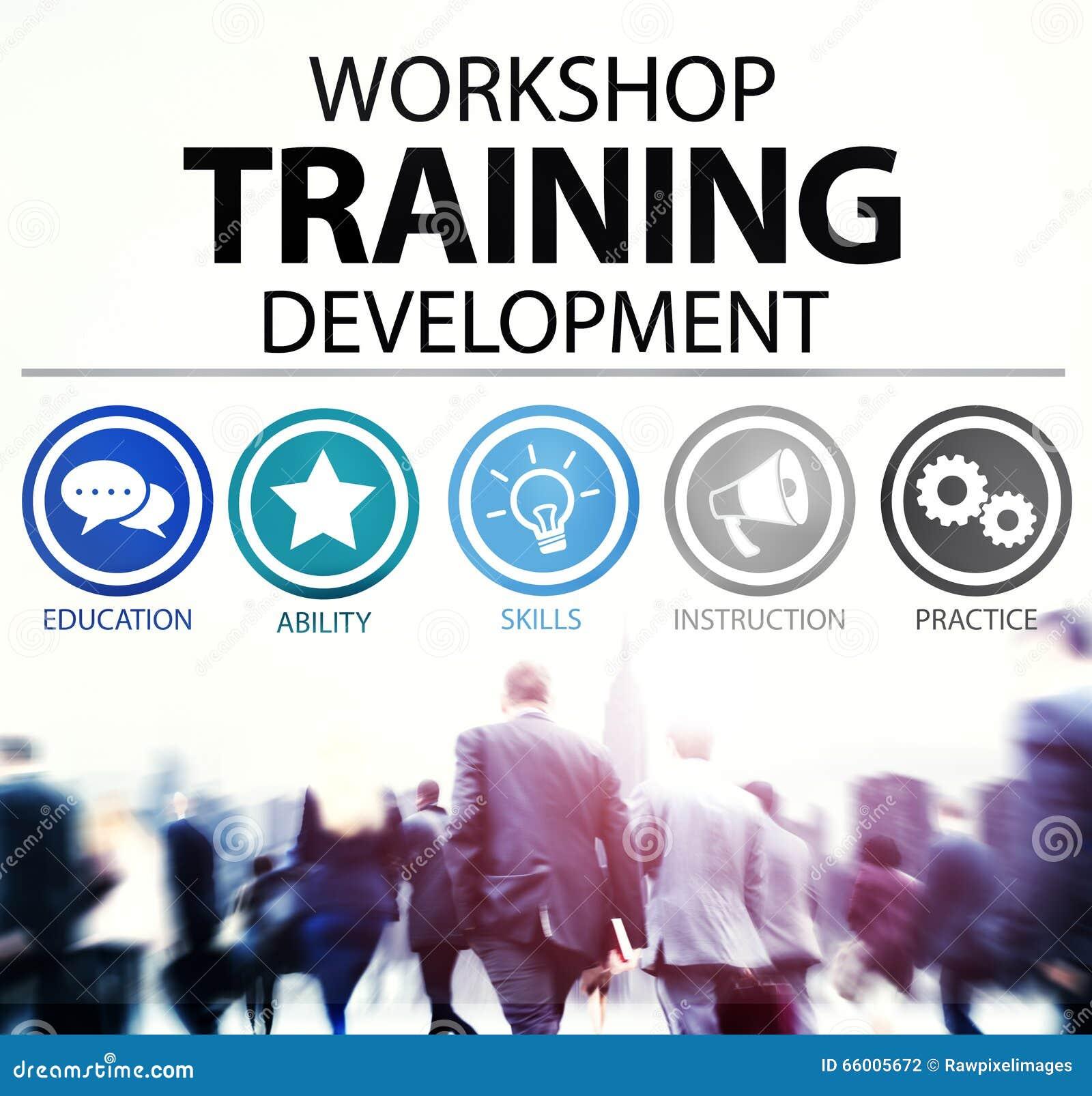 Workshop het Concept van de de Ontwikkelingsinstructie van het Opleidingsonderwijs