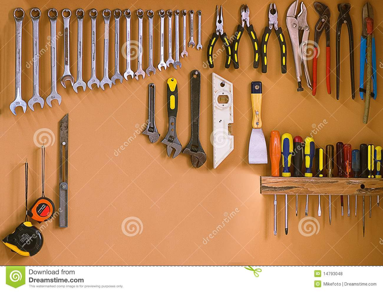 Workshop Tools Royalty Free Stock Photos - Image: 14793048