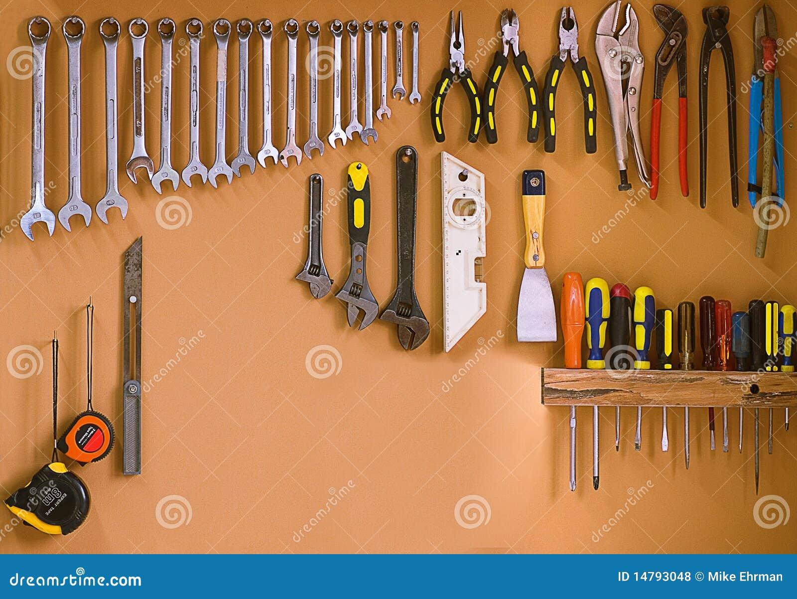 Workshop Tools Royalty Free Stock Photos - Image: 14793048