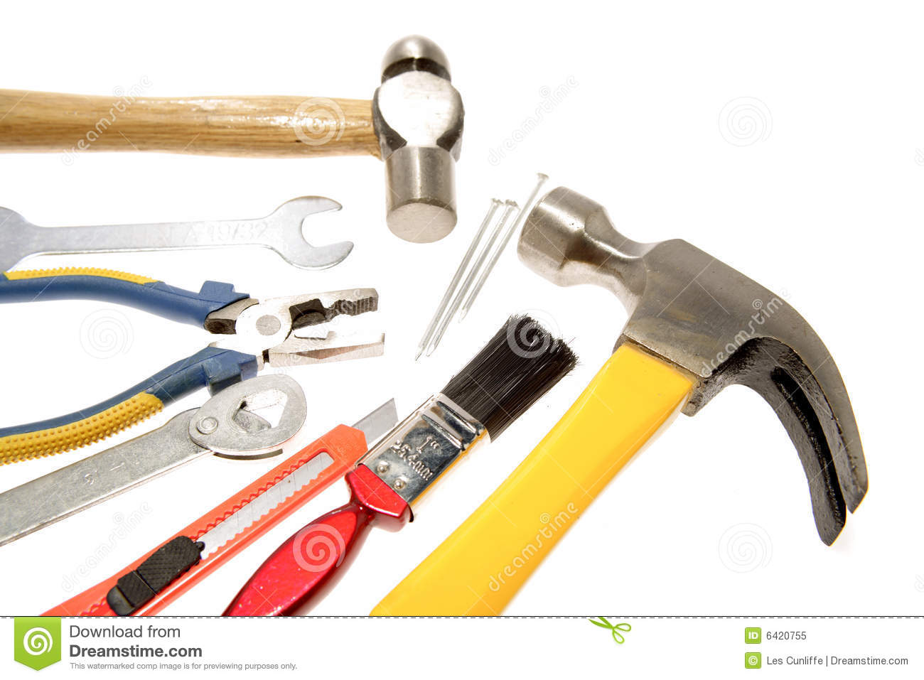 Workshop Tools Royalty Free Stock Photo - Image: 6420755