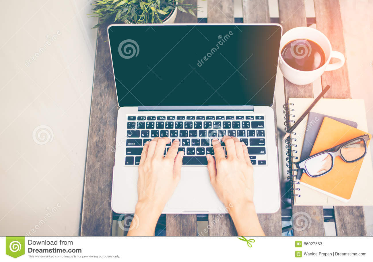 Download Workspace Relaxing Chill Out Work For Office And Design Laptop Smartphone With Morning Coffee, Stock Image - Image of notebook, chill: 86027563