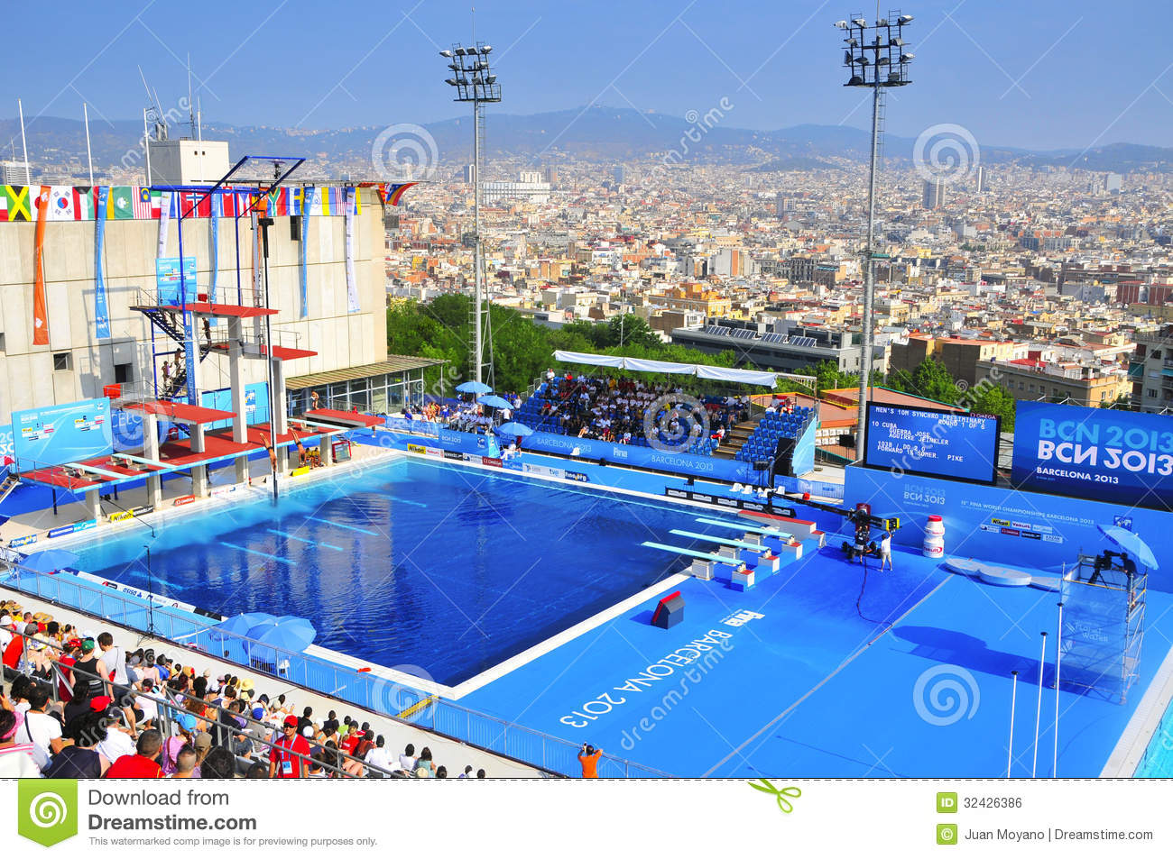 2013 world aquatics championships in barcelona spain for Piscina montjuic barcelona
