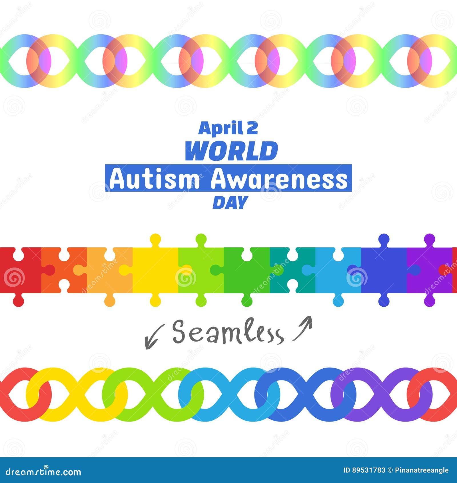 World autism awareness day april 2 2017 stock illustration world autism awareness day april 2 2017 biocorpaavc