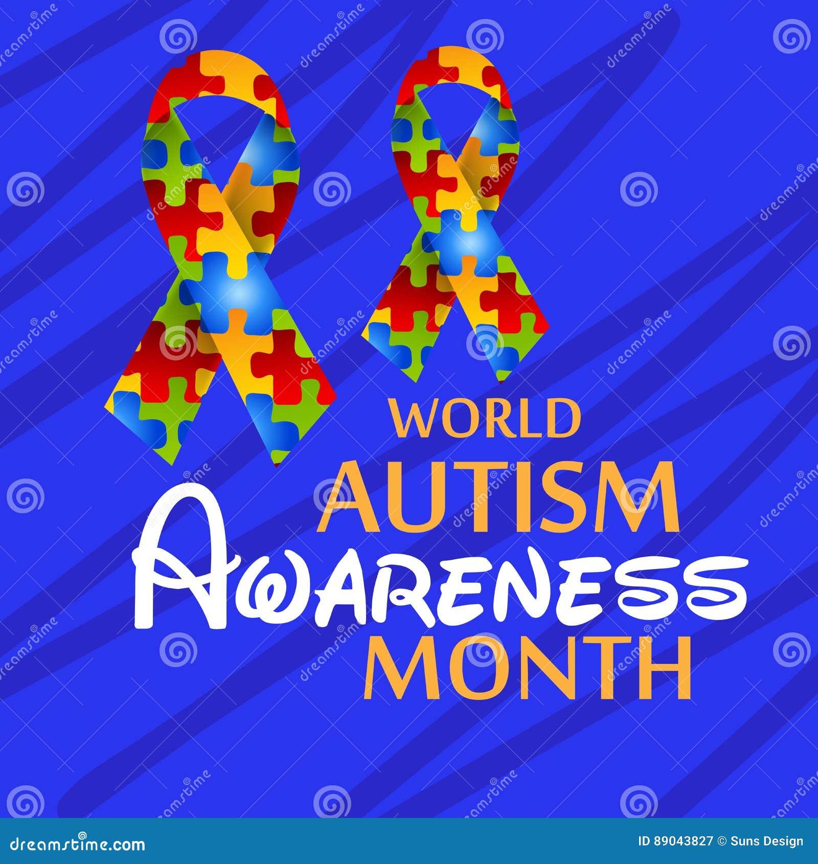 world autism awareness day stock illustration illustration of