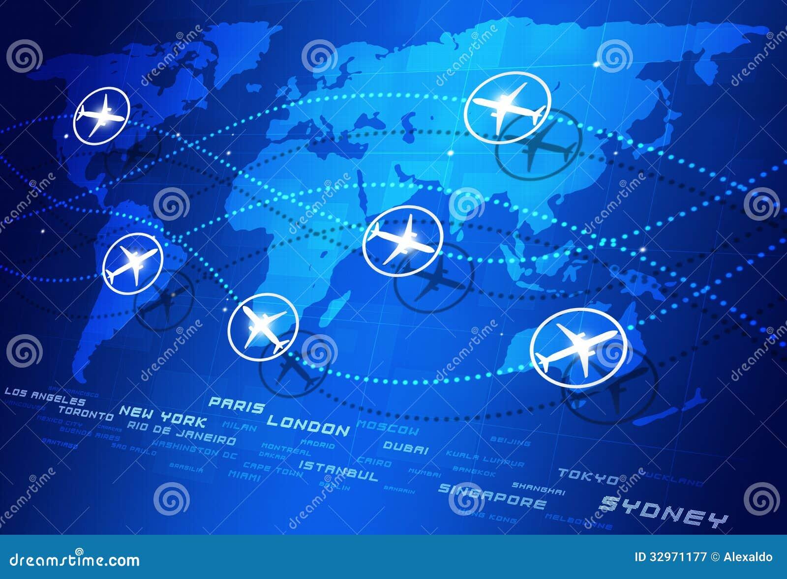 Aviation world majors