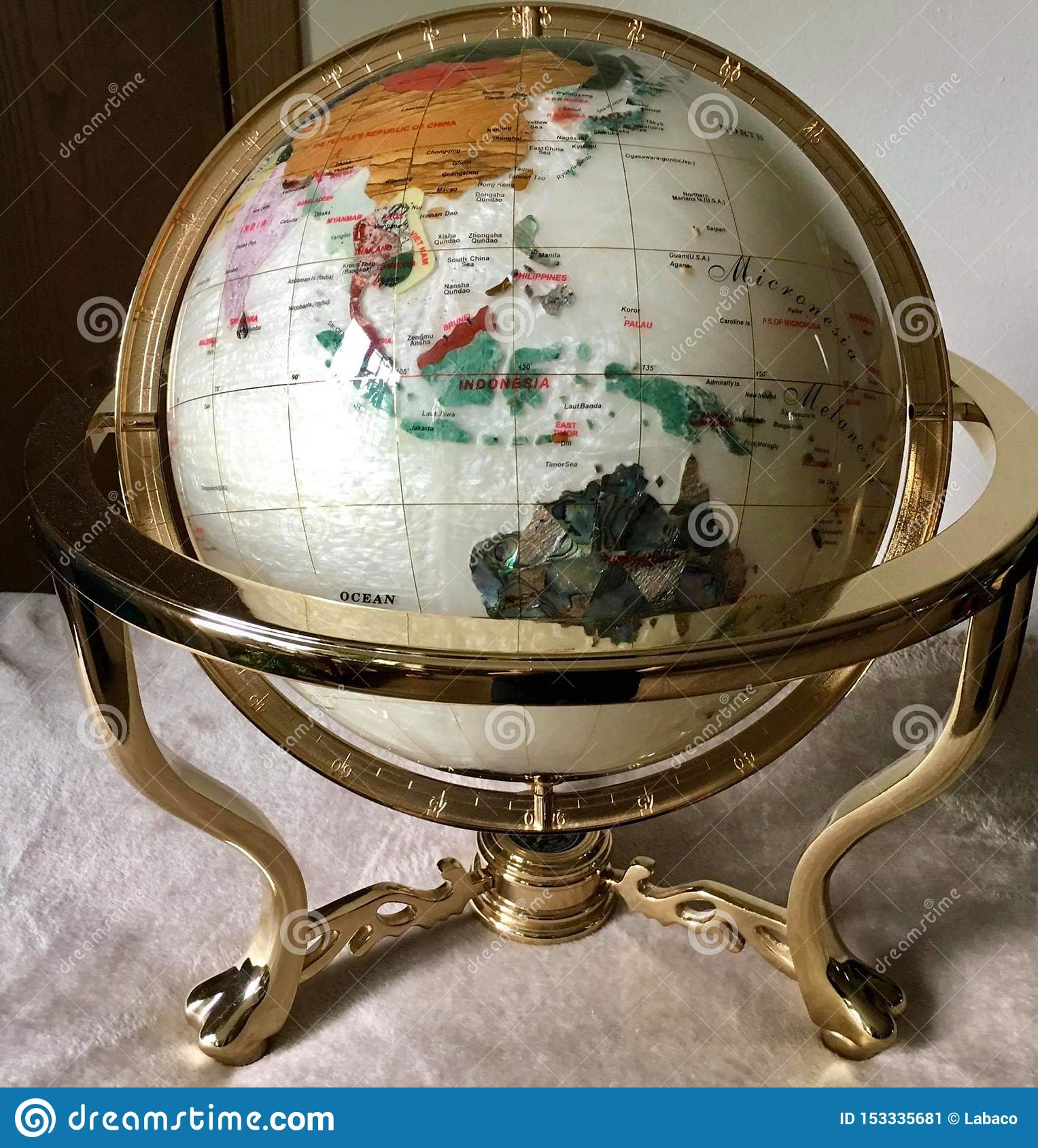 The World Ball Is Made Of Shells