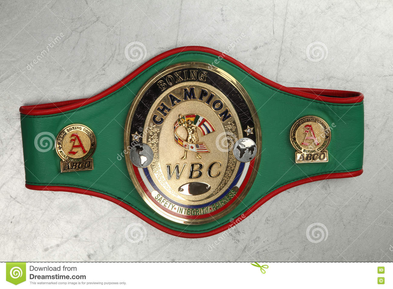 World Belt Boxing champion WBC.