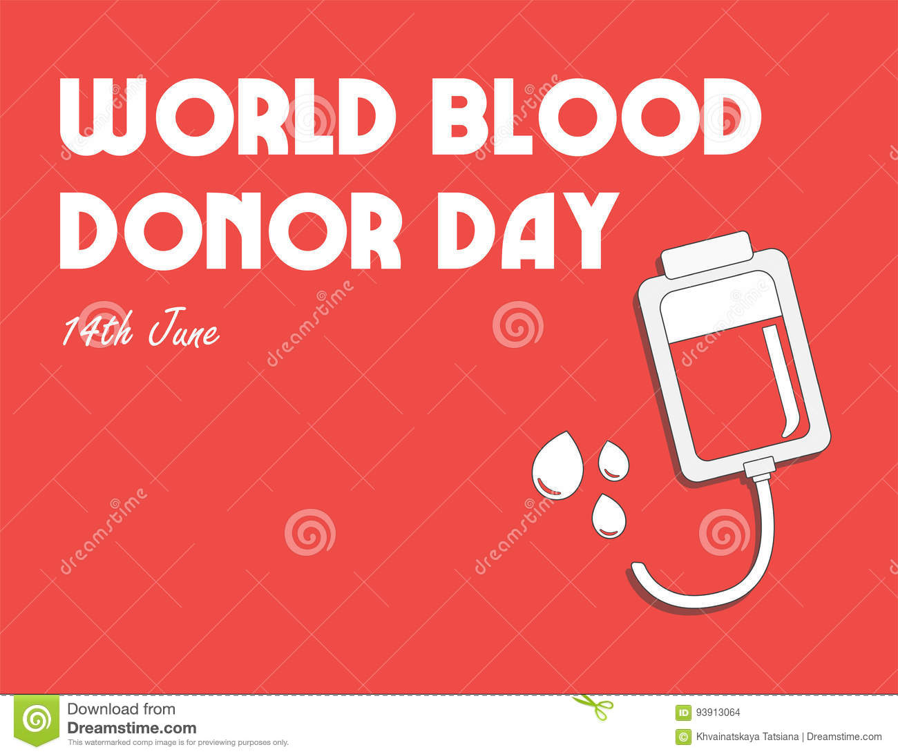 world blood donor day international holiday donate blood and save