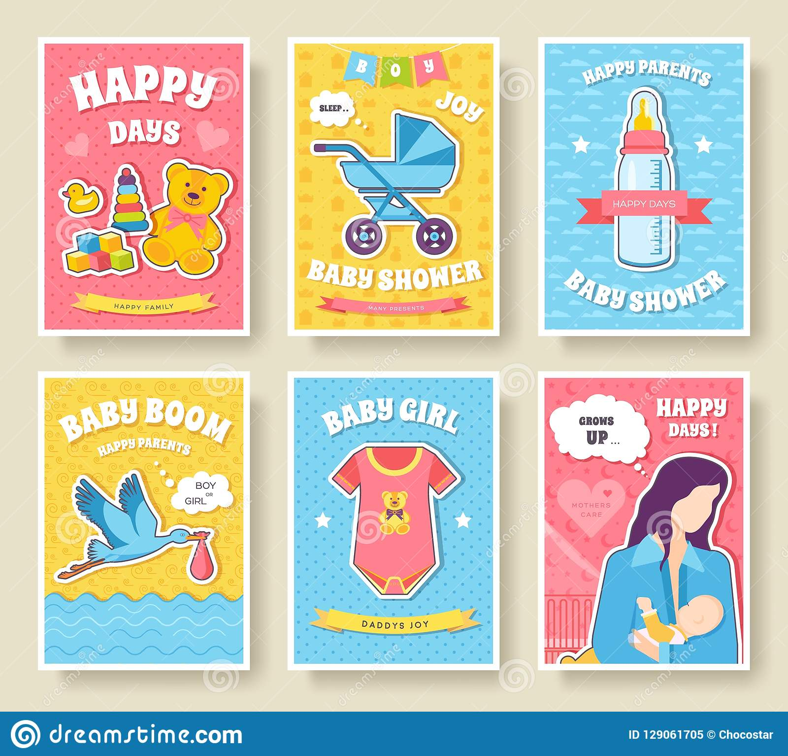World Breastfeeding Week Cards Set Kids Elements Of Flyear Magazines Posters Book Cover Banners Devices Infographic Concept Stock Illustration Illustration Of Breast Dummy 129061705