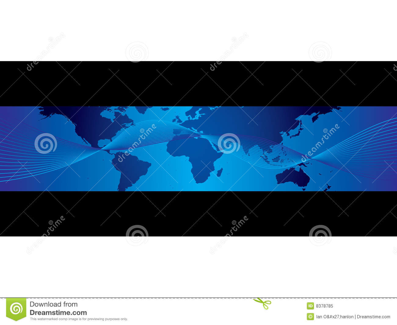 World Business Map Banner Stock Vector Illustration Of Geography