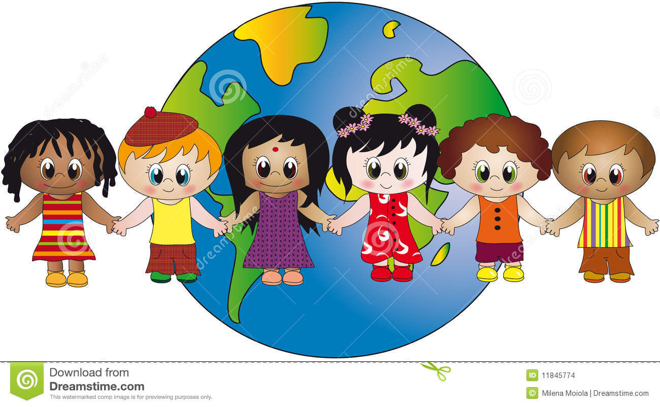 world of children stock illustration illustration of Students Using Vocabulary Students Talking Clip Art