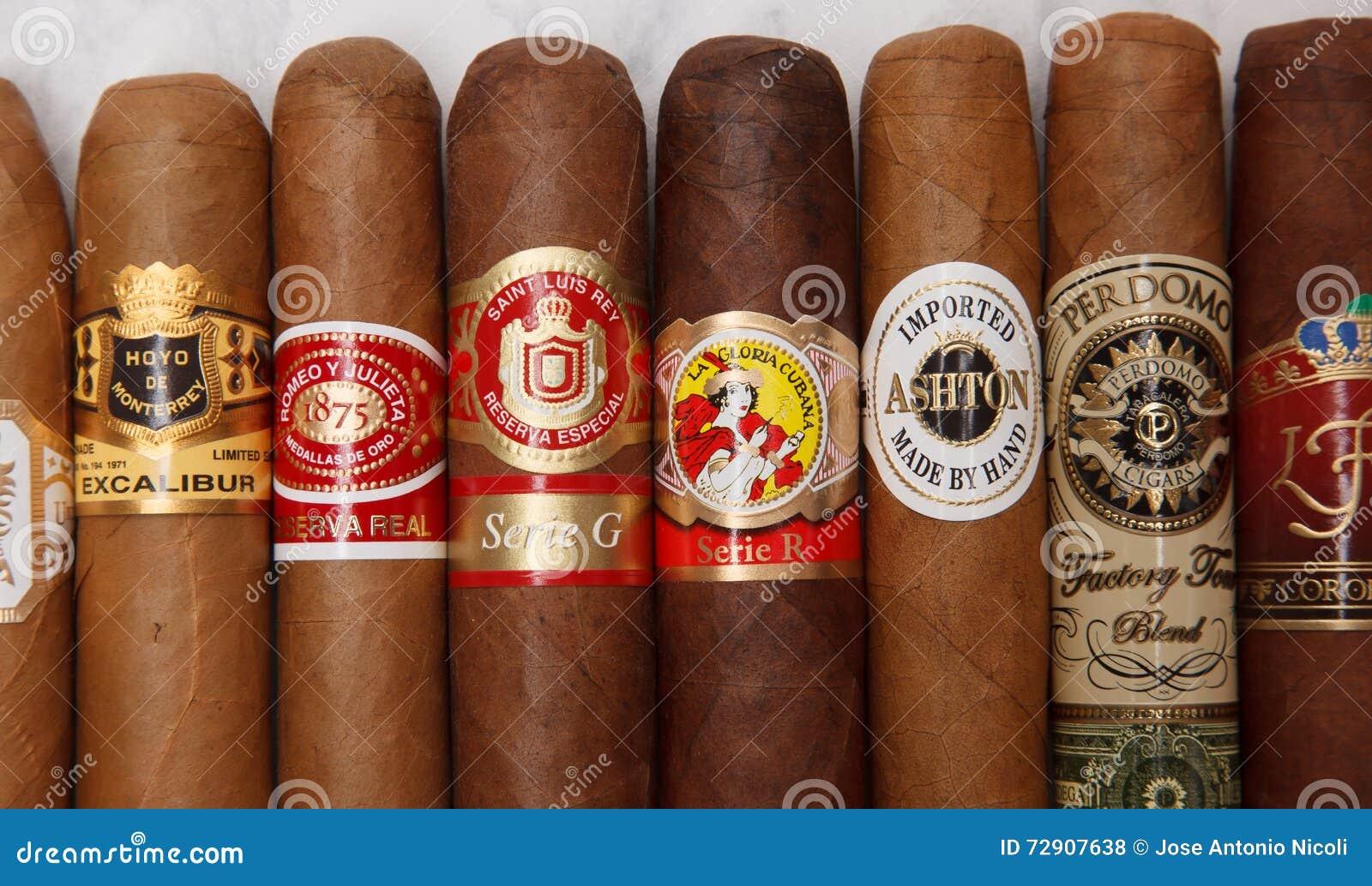 Same Name: World Cigars Editorial Stock Photo