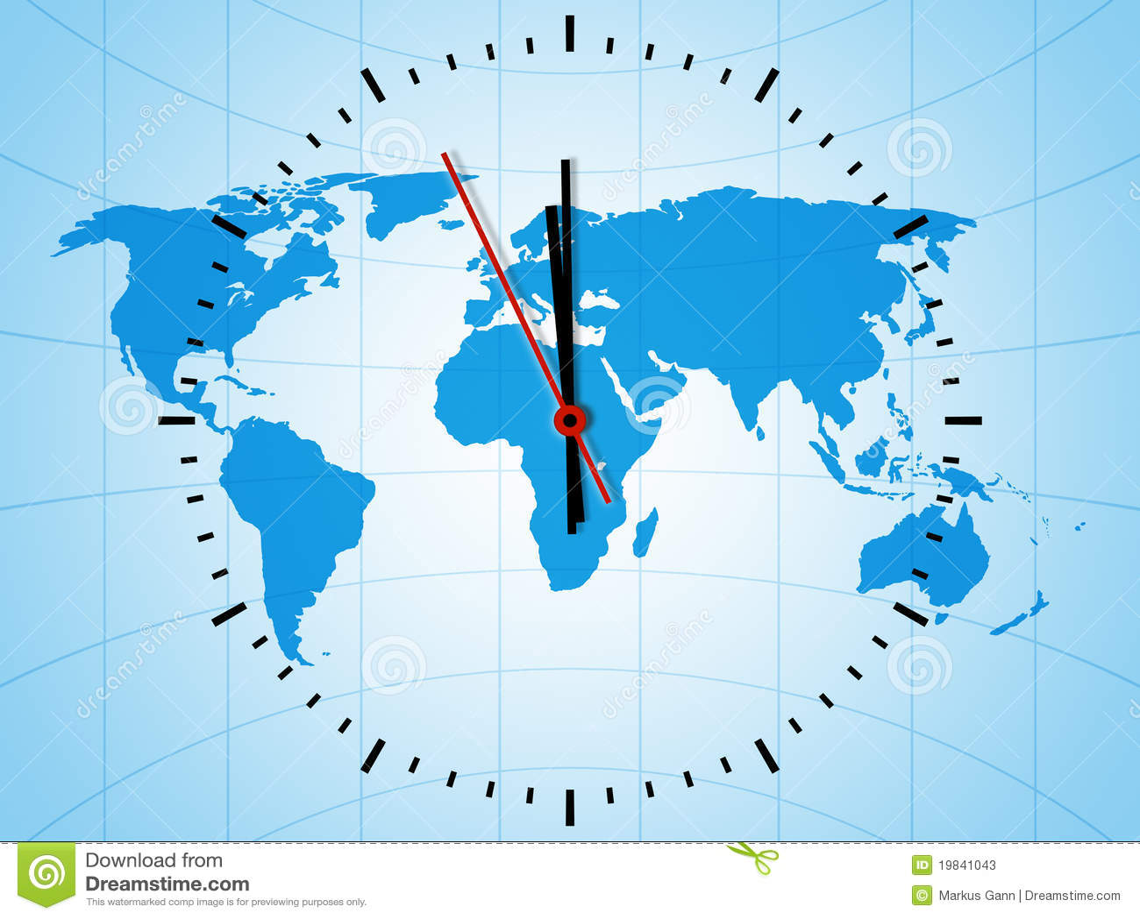 World Clock Stock Photos - Image: 19841043