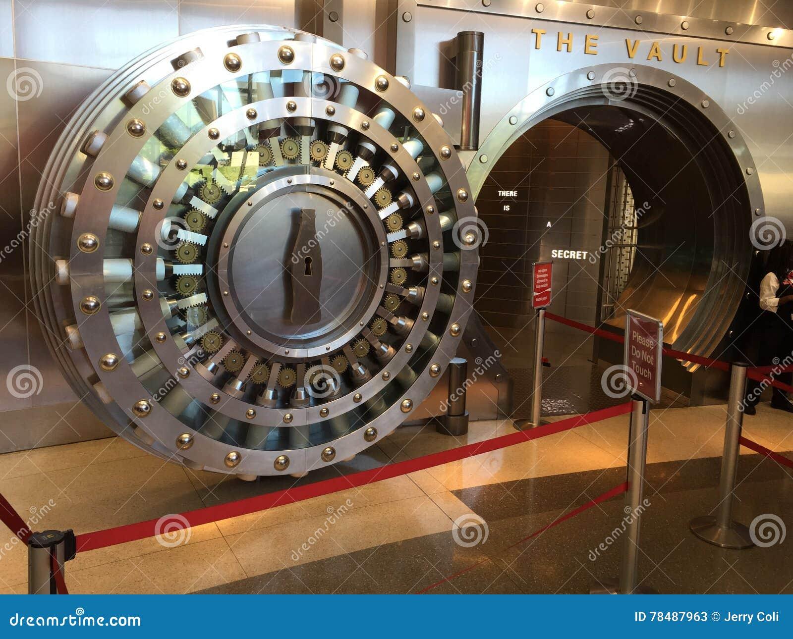 World of Coca-Cola vault  editorial stock photo  Image of tourism