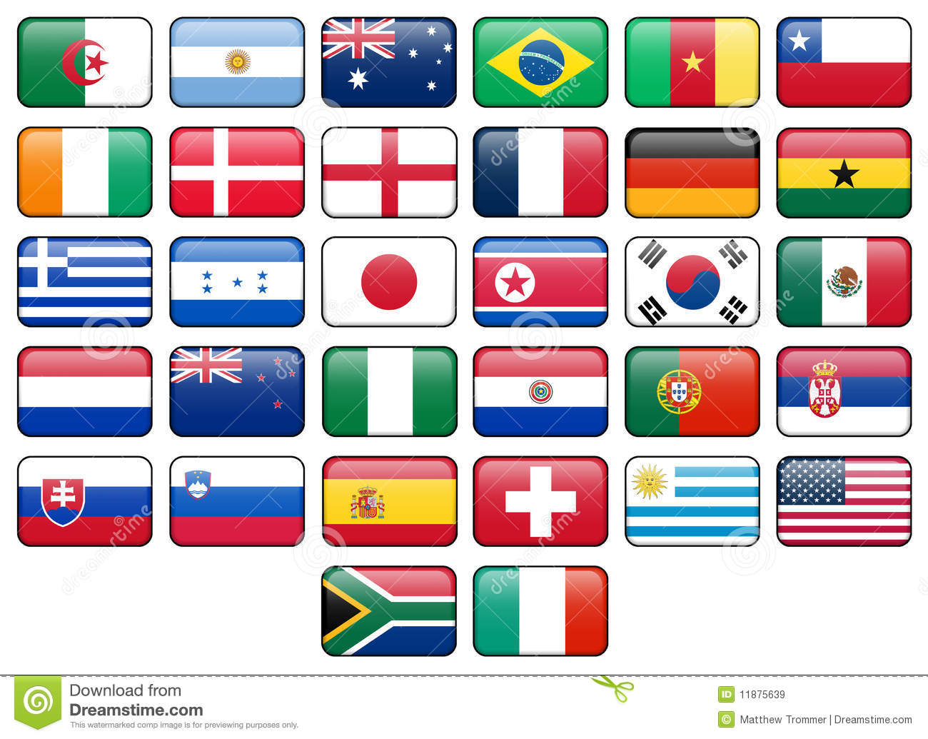 Flags of the world meaning and free images - country flags