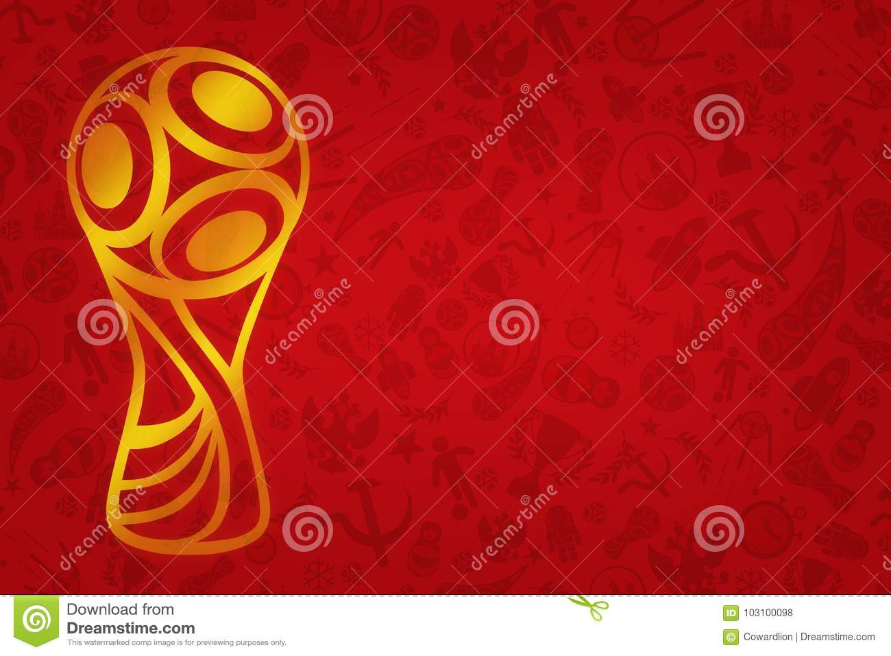World Cup 2018 Wallpaper World Soccer Tournament In R Editorial