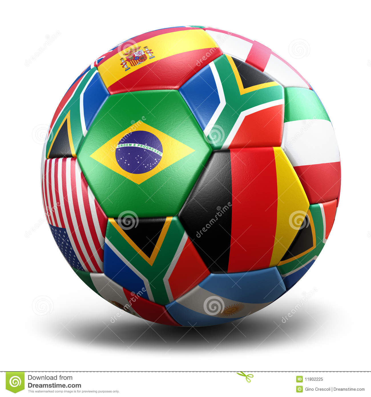 world cup soccer ball royalty free stock photo   image 11802225
