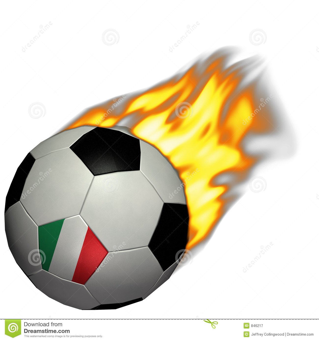 World Cup Soccer/Football - Italy on Fire