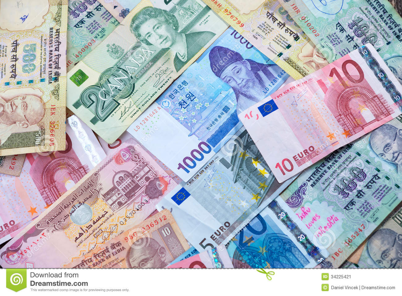 world paper money