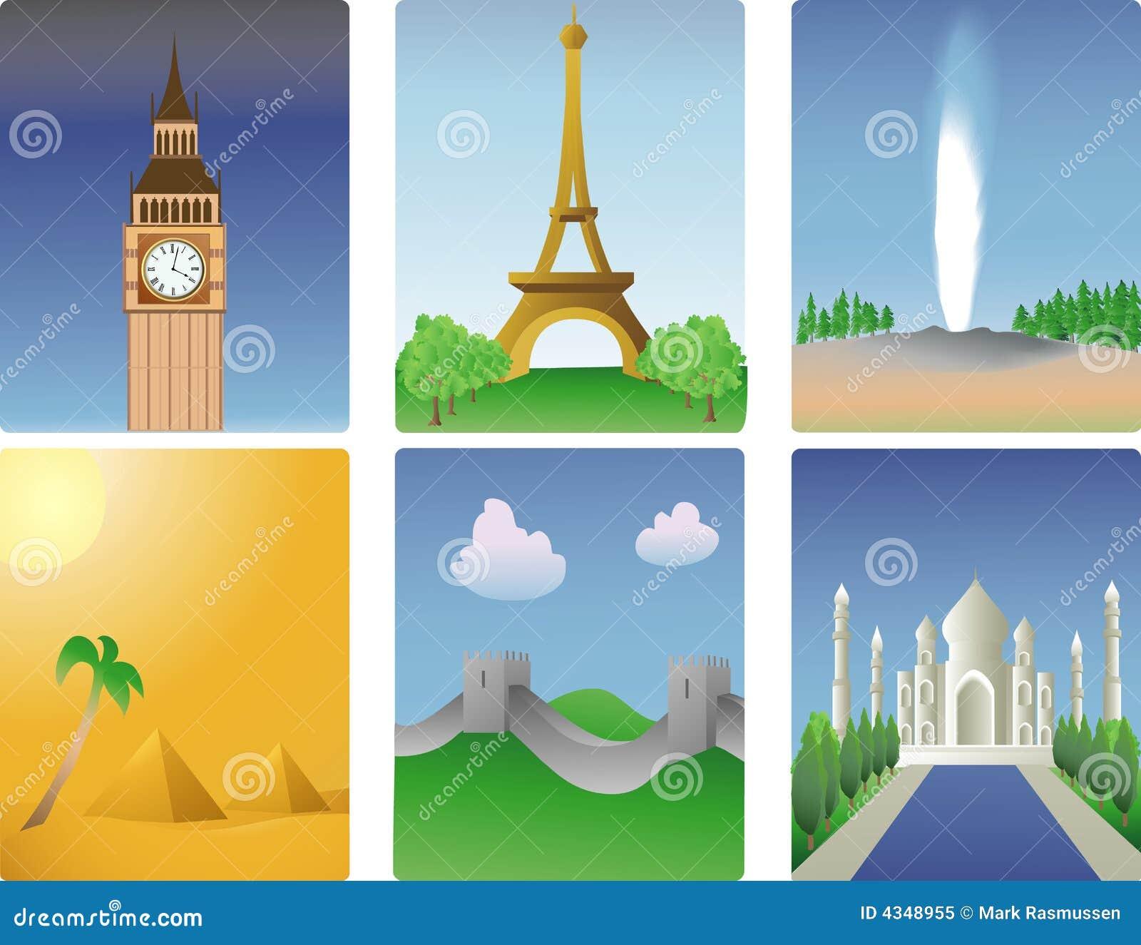 World destinations