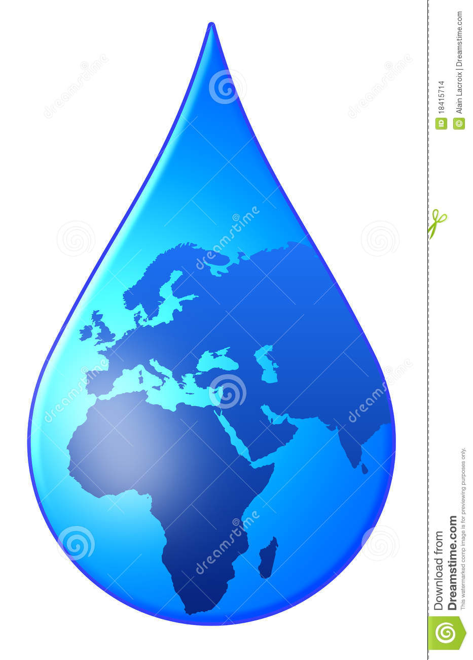 World Drop Stock Image...A Circle Of Hands Clipart