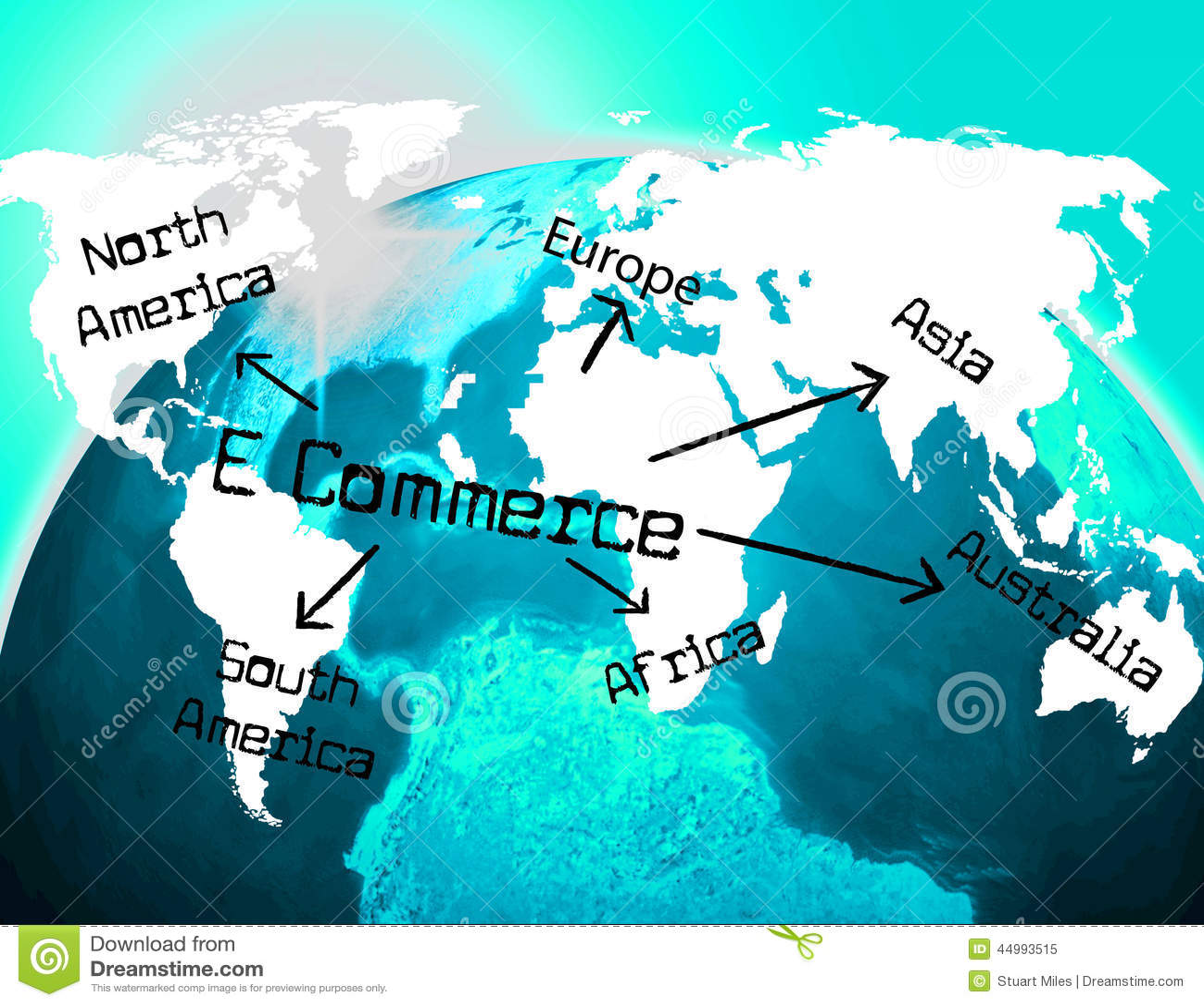 世界电子商务意思贸易全球化和全球性地.