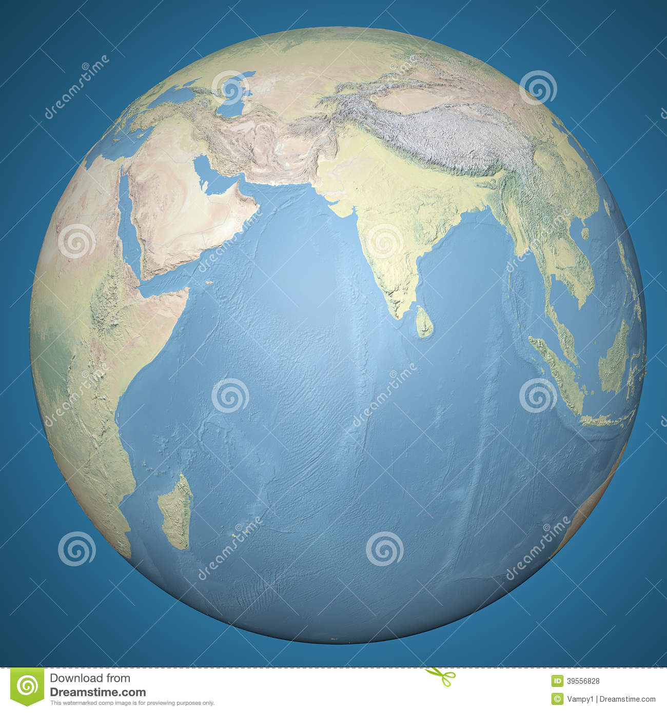 India On Globe Map Photo Image 31185200 – Globe Maps of the Earth