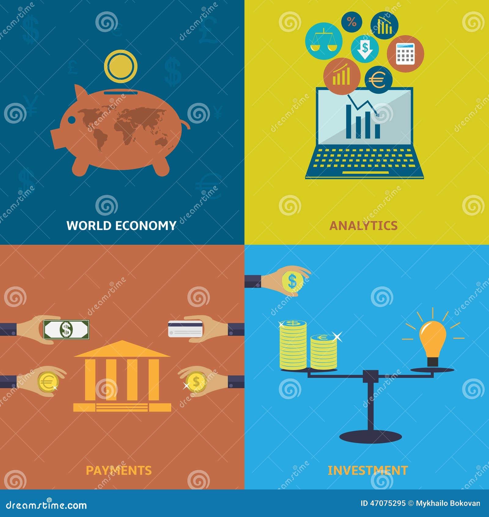 World economy stock vector image 47075295 for Design economico
