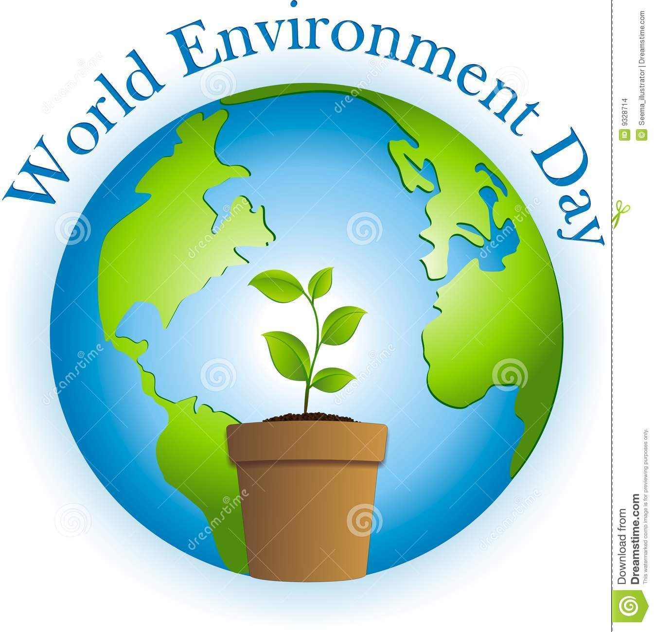 Celebrating World Environment day by planting a tree.