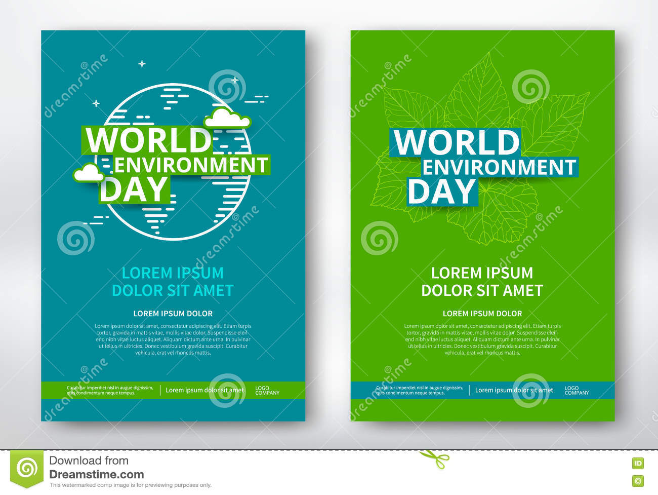 Poster design environment day - World Environment Day
