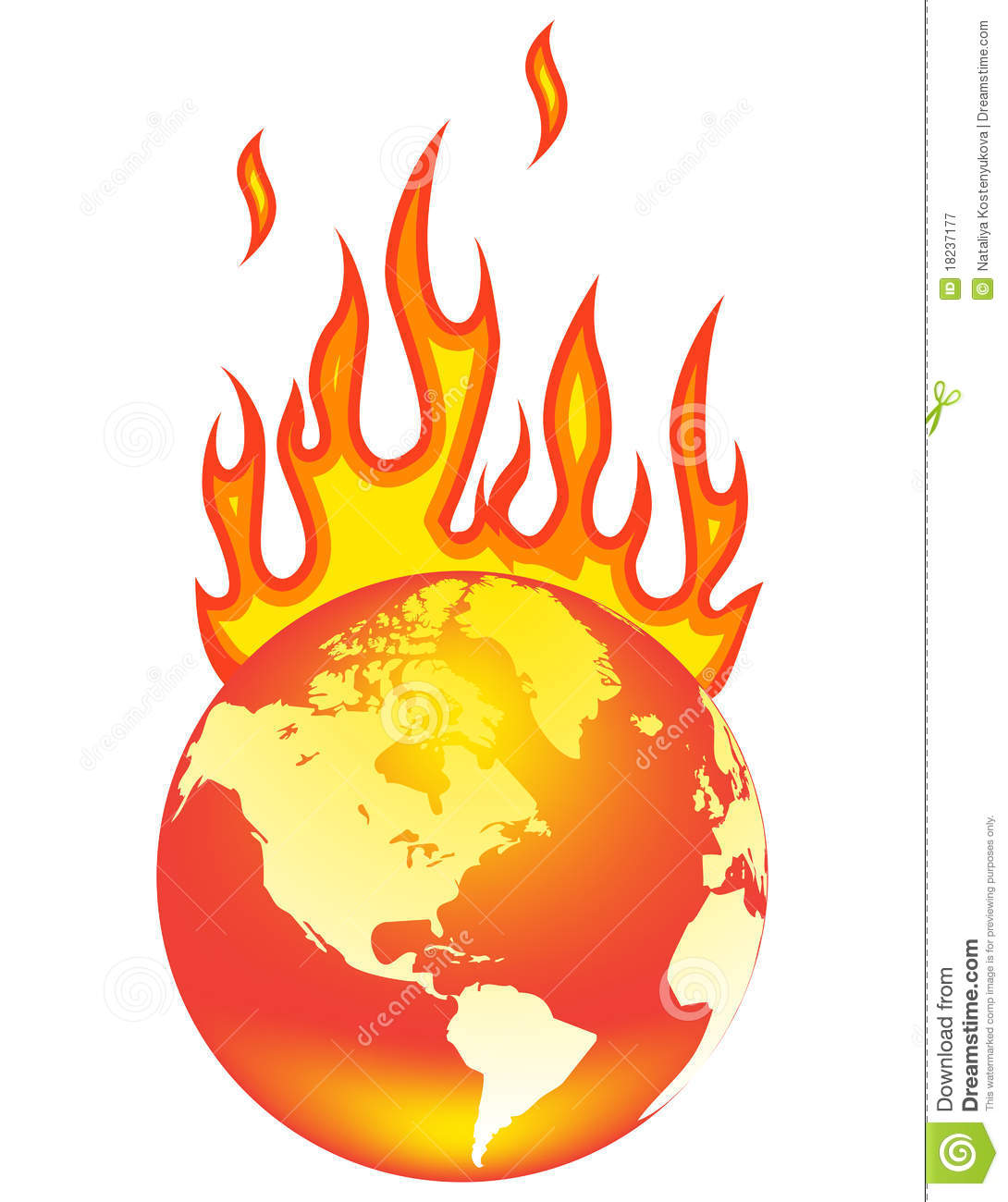 world on fire royalty free stock photography image 18237177 Globe Icon Blue Globe Icon Blue
