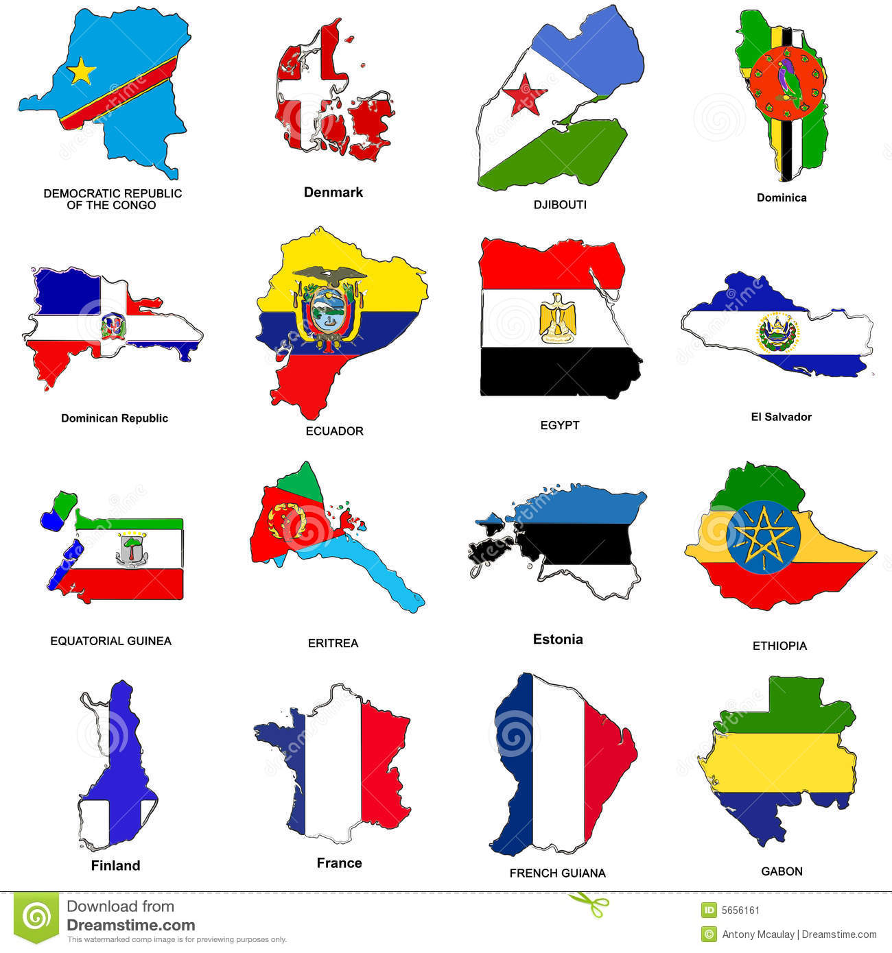 World flag map sketches collection 04 stock illustration world flag map sketches collection 04 gumiabroncs Images