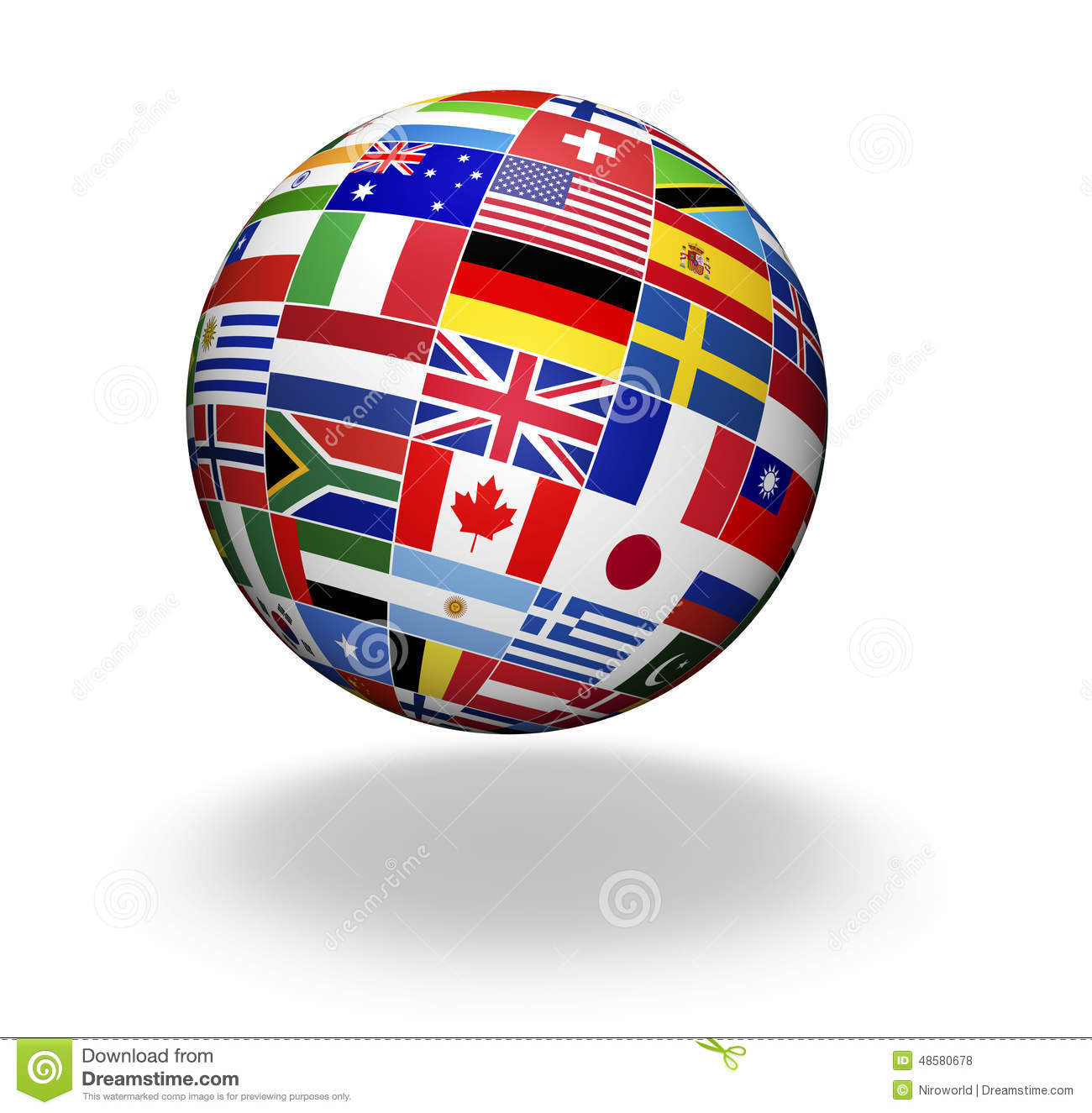 World flags international business stock photo image for Waldo s world wide travel service