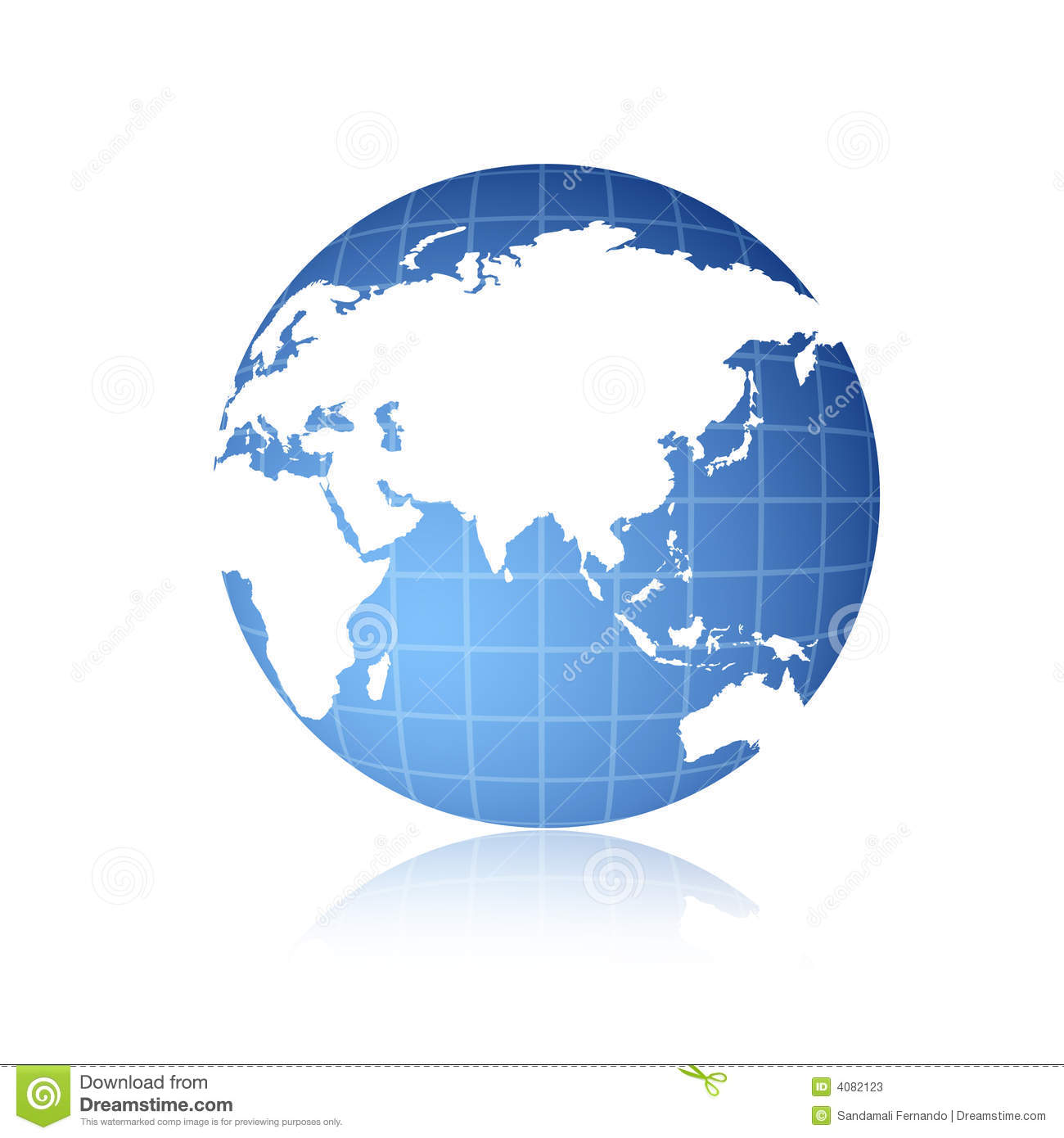 World Globe Stock Photos Image 4082123