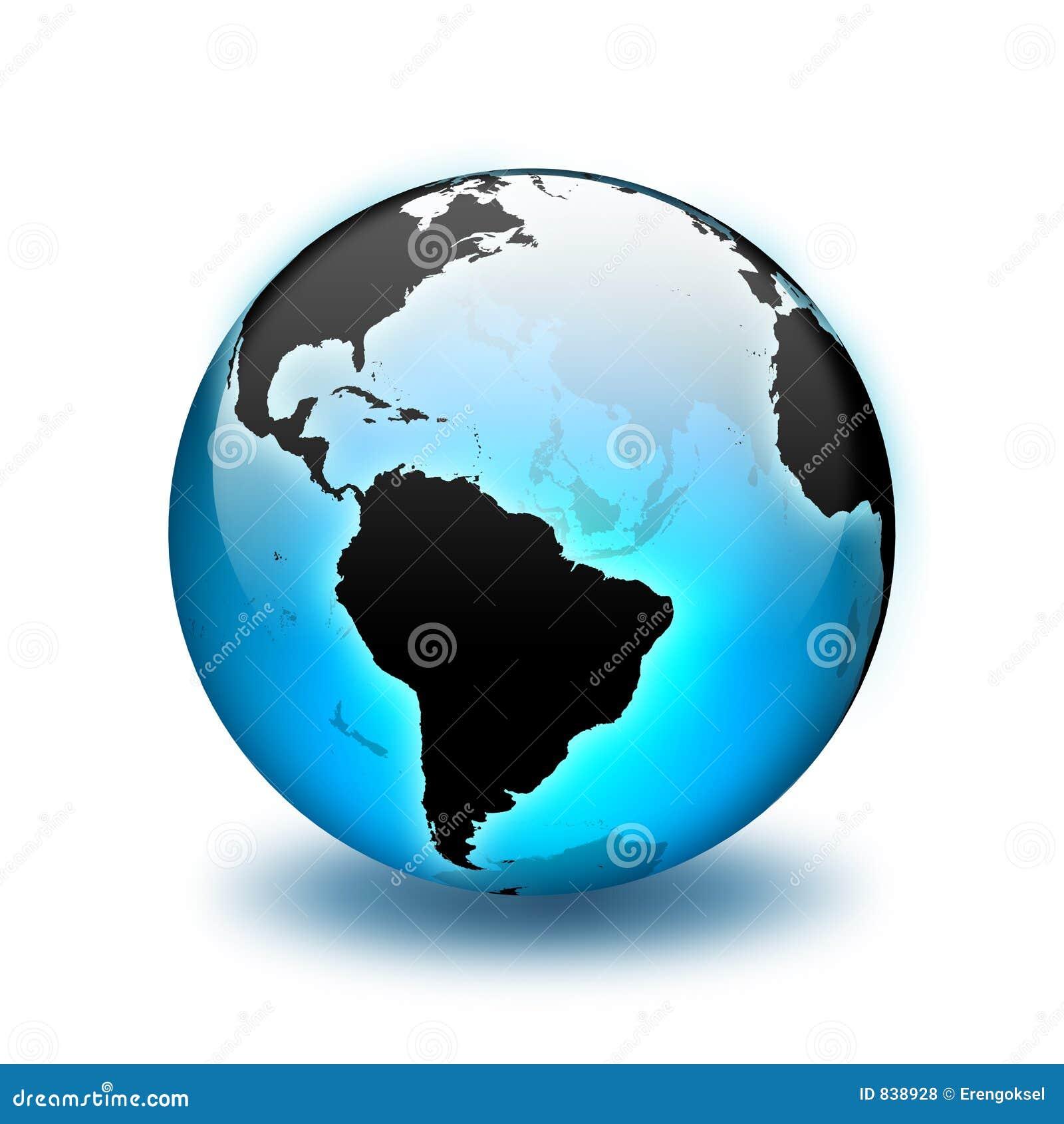 World Globe Royalty Free Stock Photos - Image: 838928