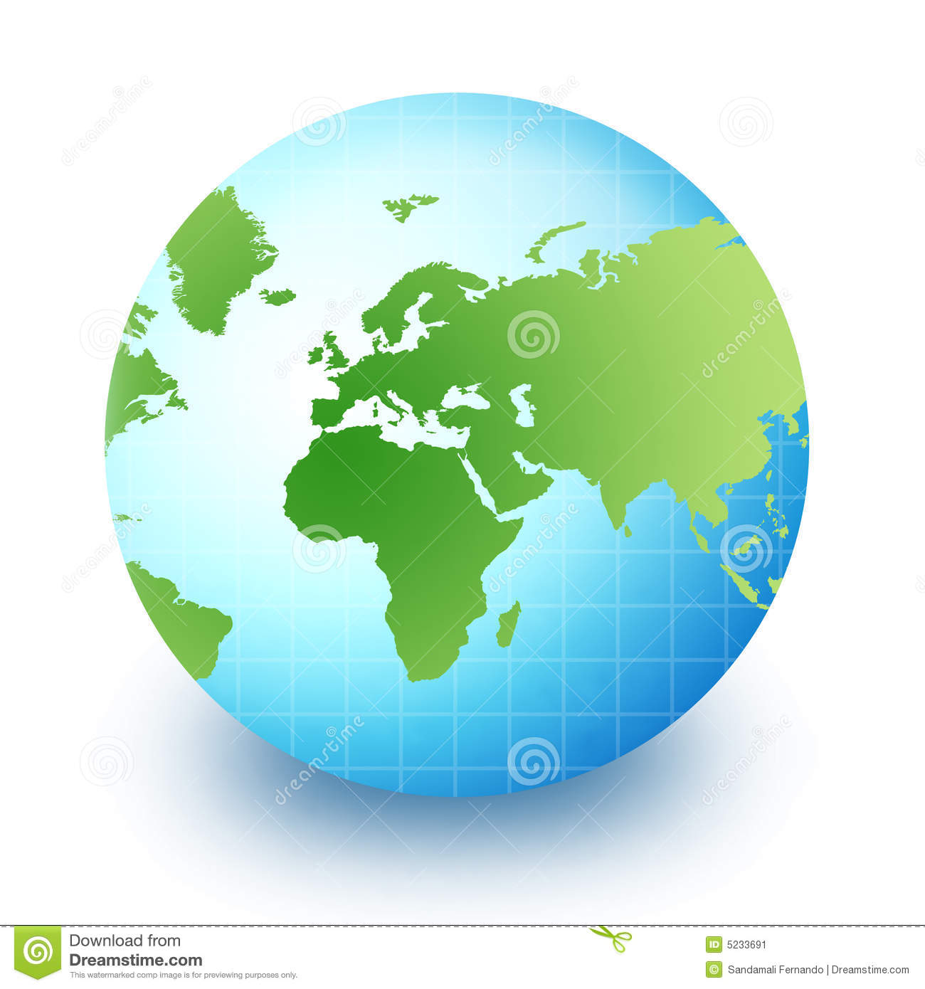 World globe africa europe and asia stock image image 5233691 - Globe maison du monde ...