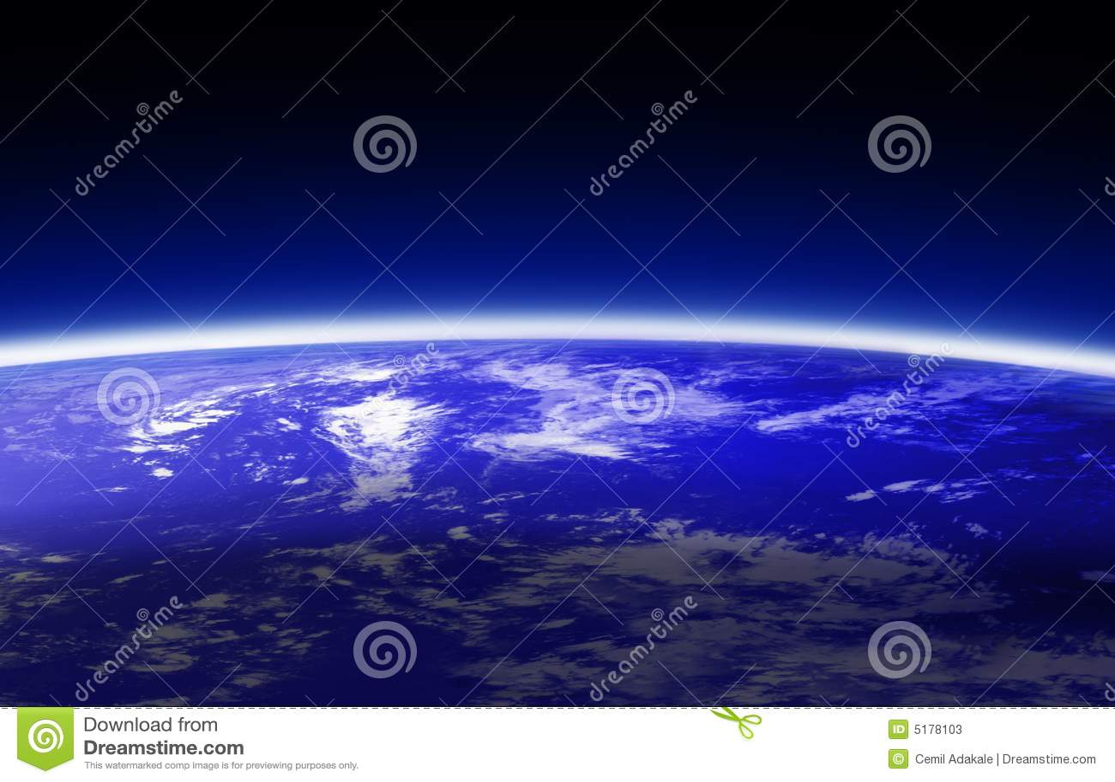 World globe (atmosphere)