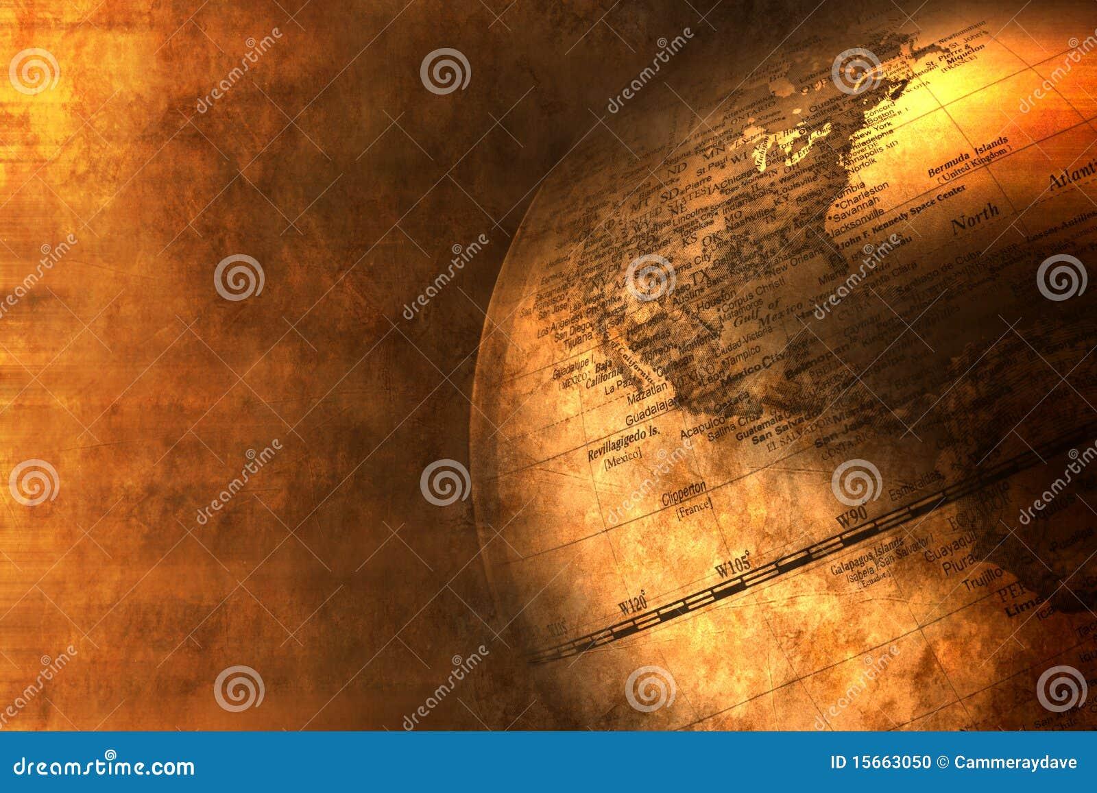 Business World Globe Global Background Banner