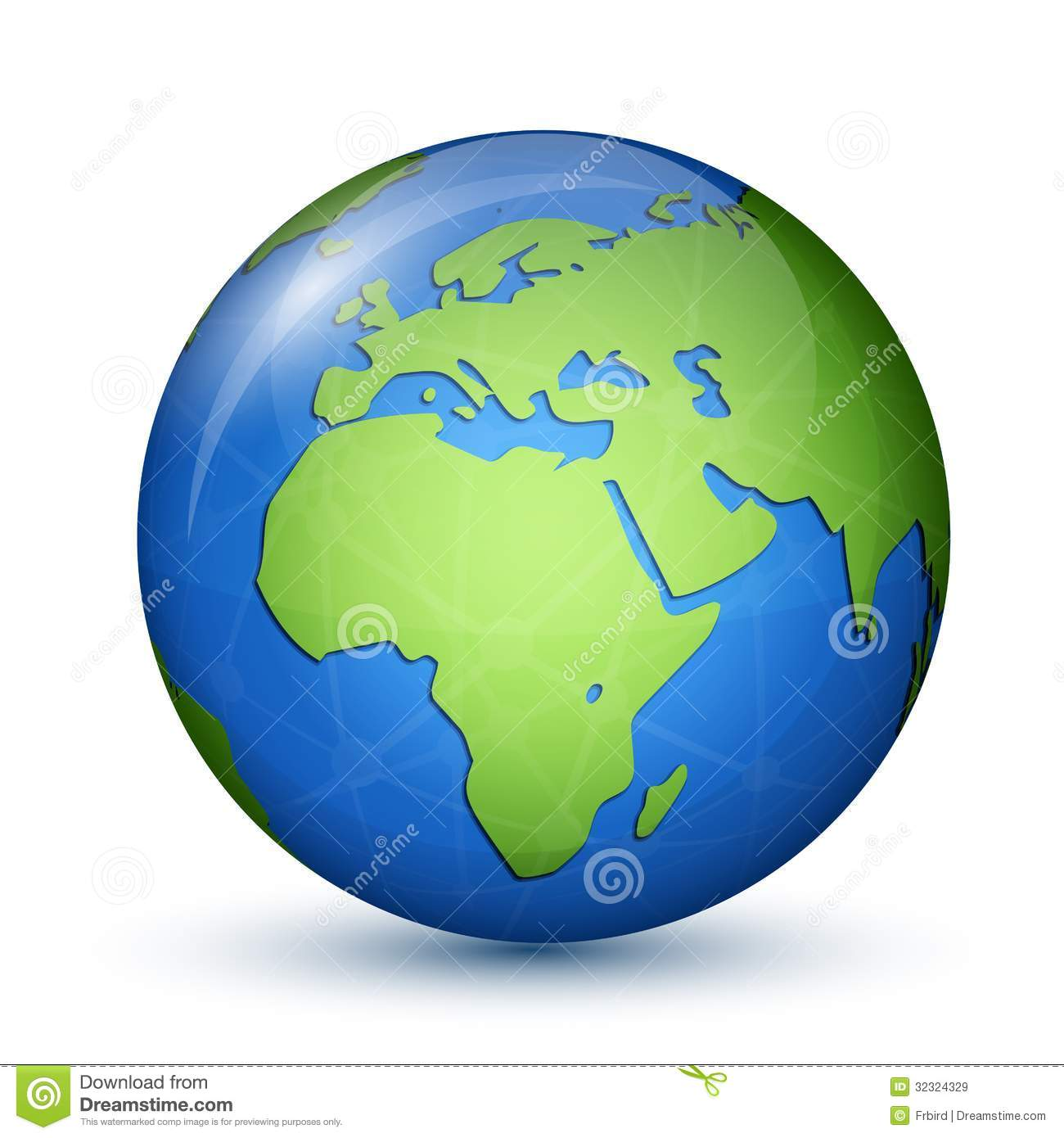 World Globe Map Africa Europe Royalty Free Images – Globe Map of Europe