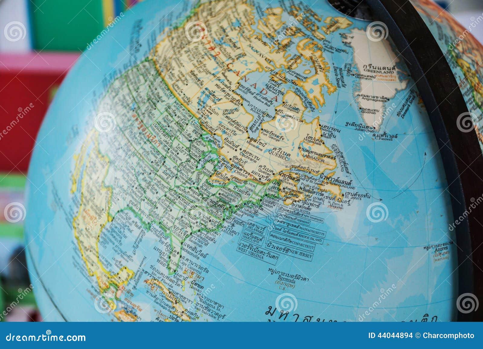 Spherical World Map.World Globe Map Background Stock Photo Image Of Business 44044894