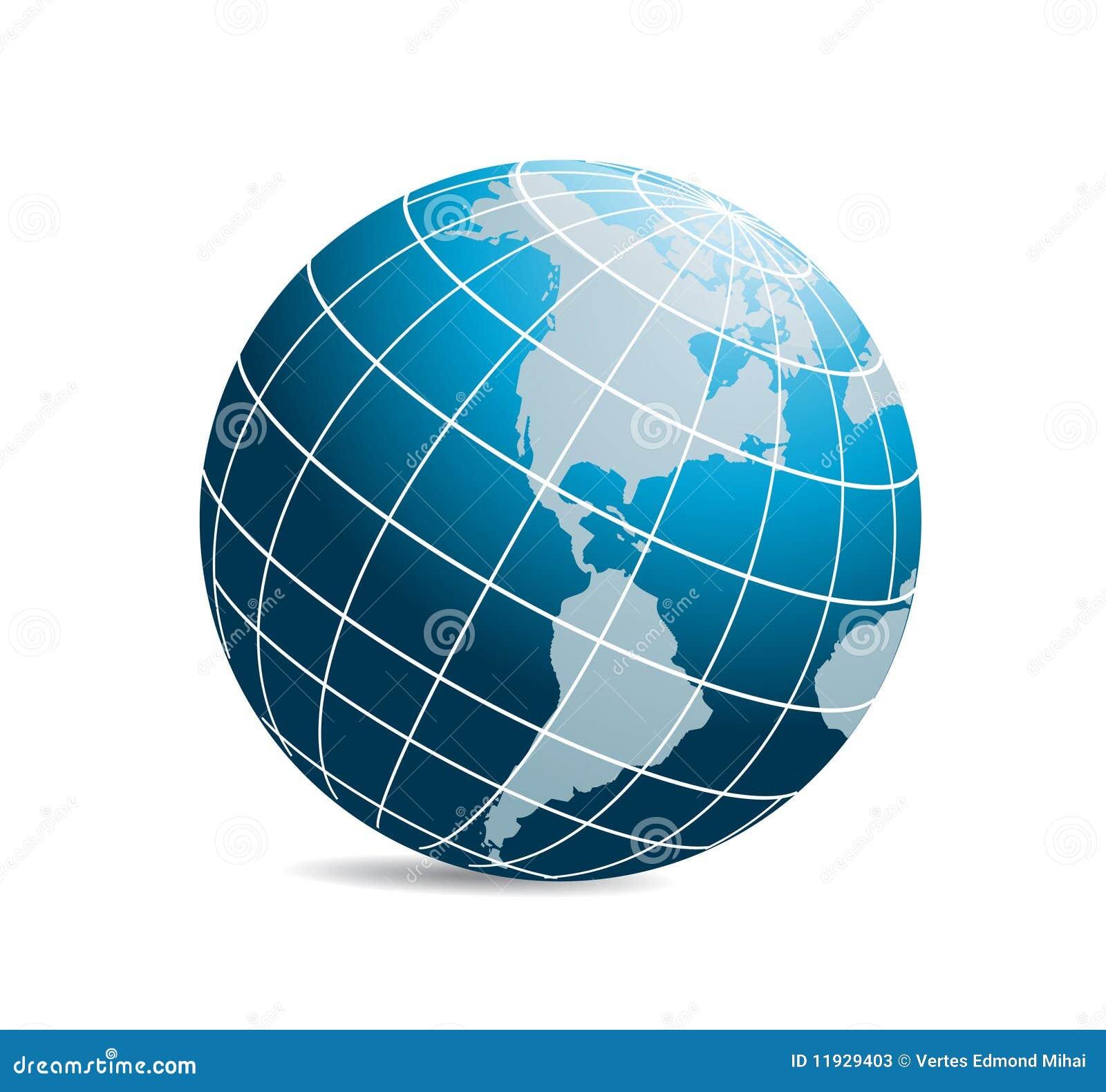 World: World Globe Vector Stock Photos