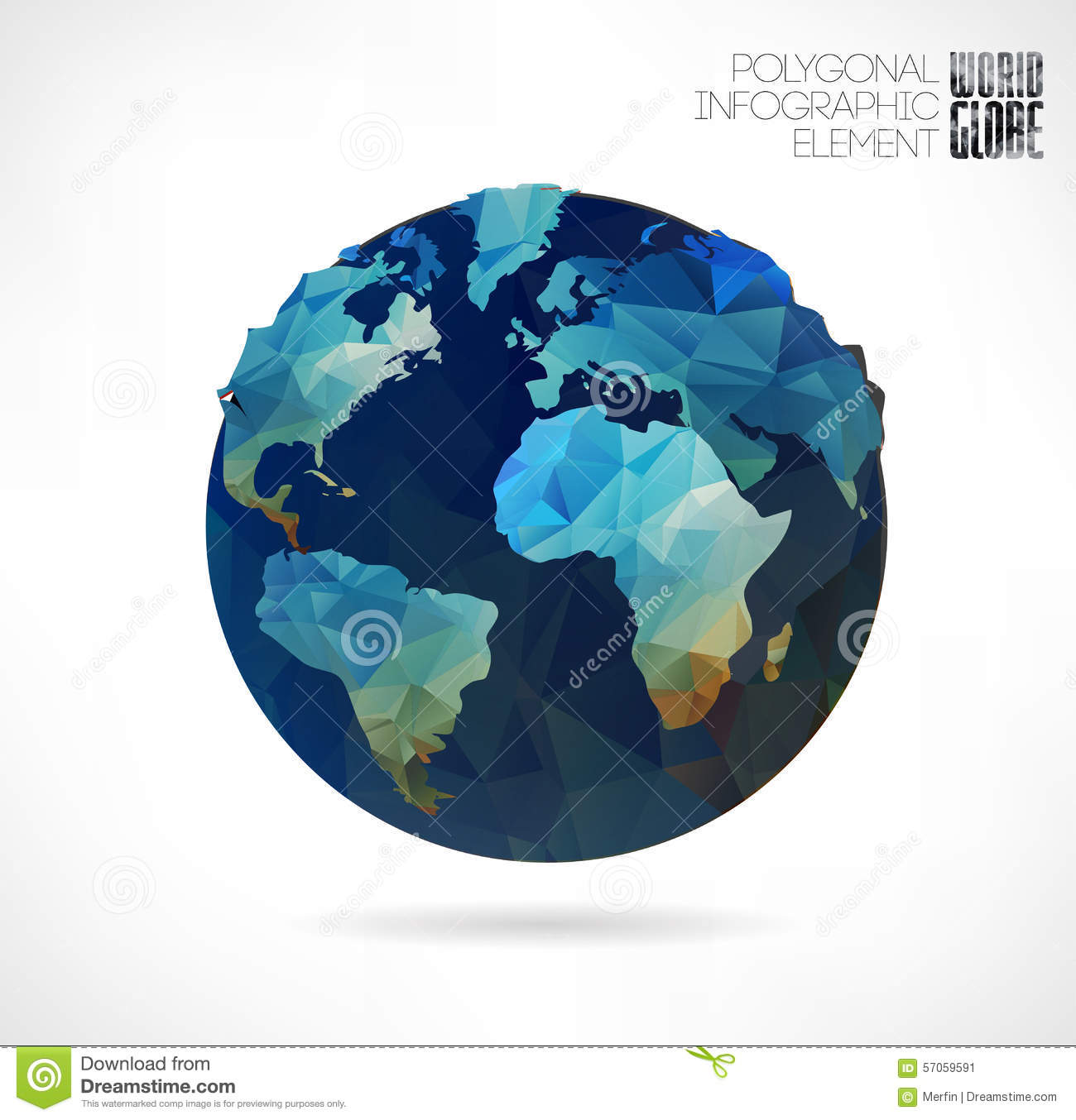 World globe stock vector  Illustration of paper, image