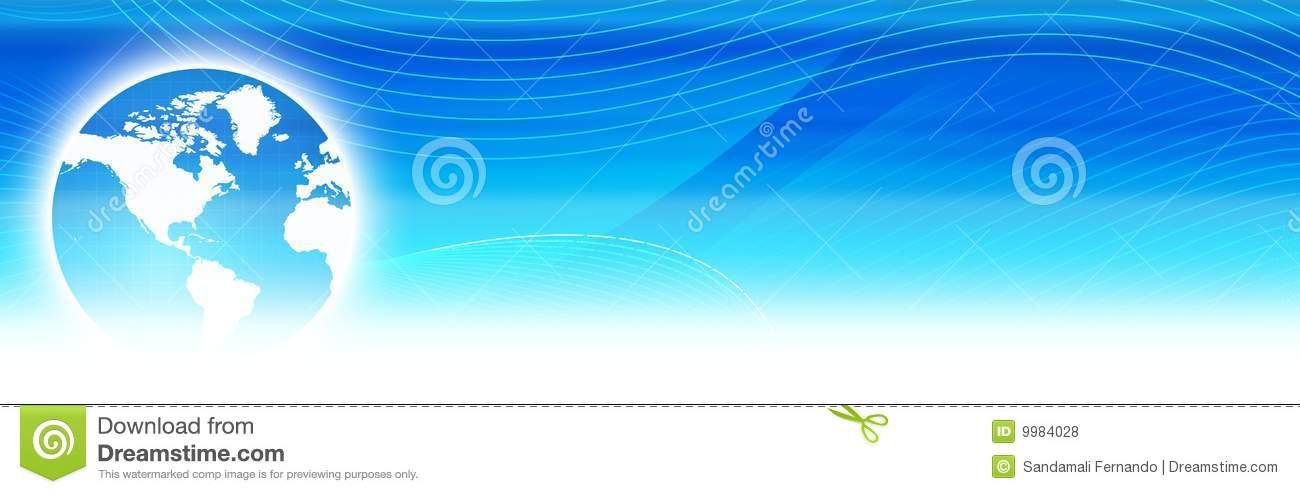World globe web header stock illustration. Image of ...
