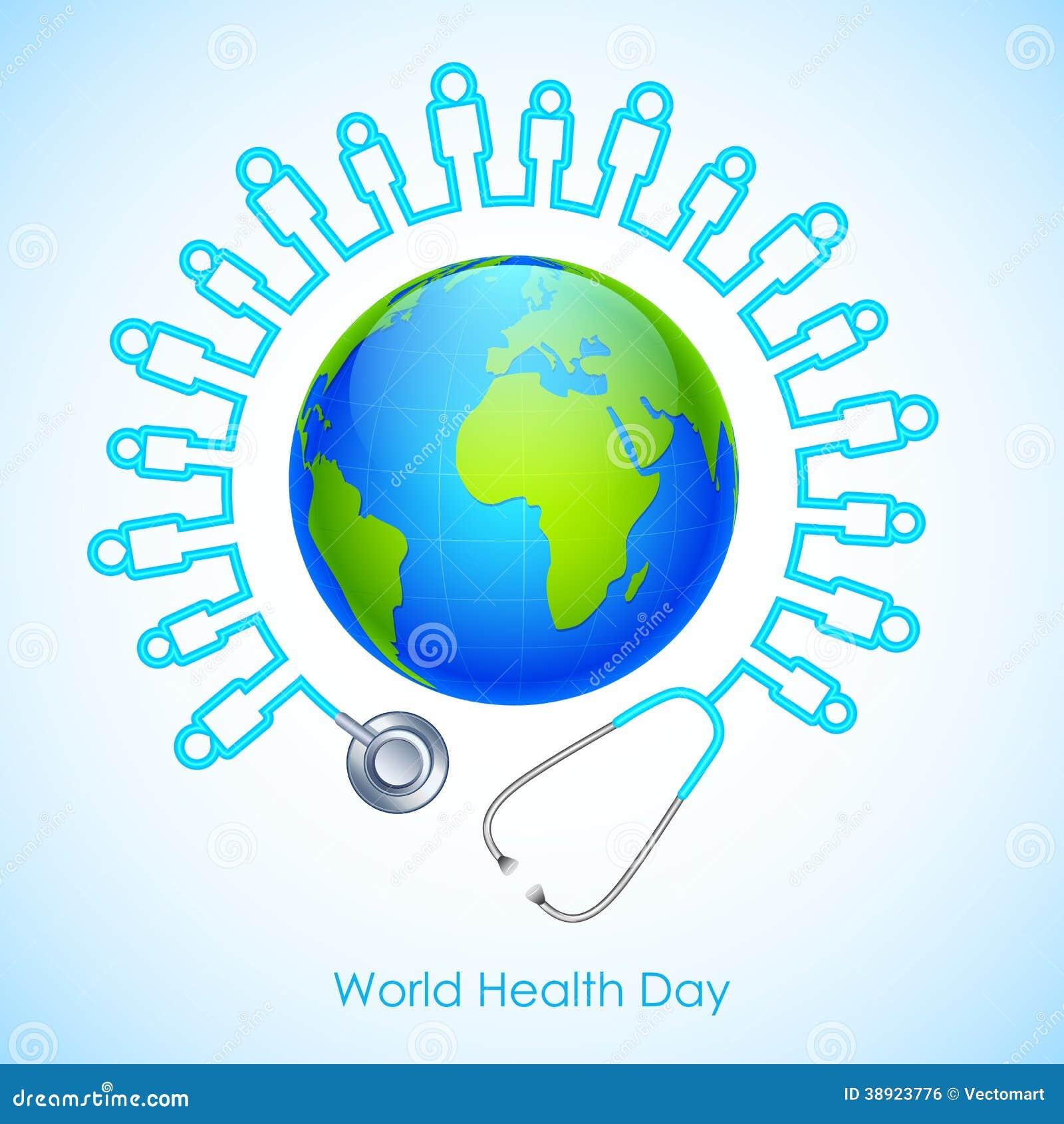 world health day stock vector   image 38923776