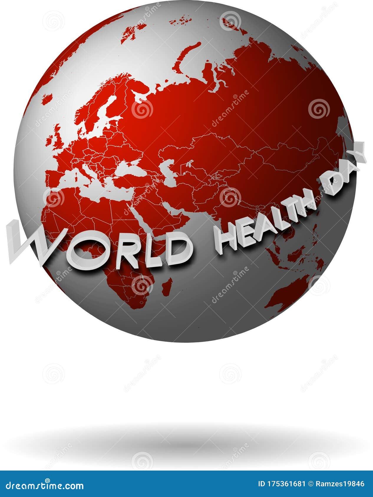 World Health Day Logo, Banner Design Template. Vector ...