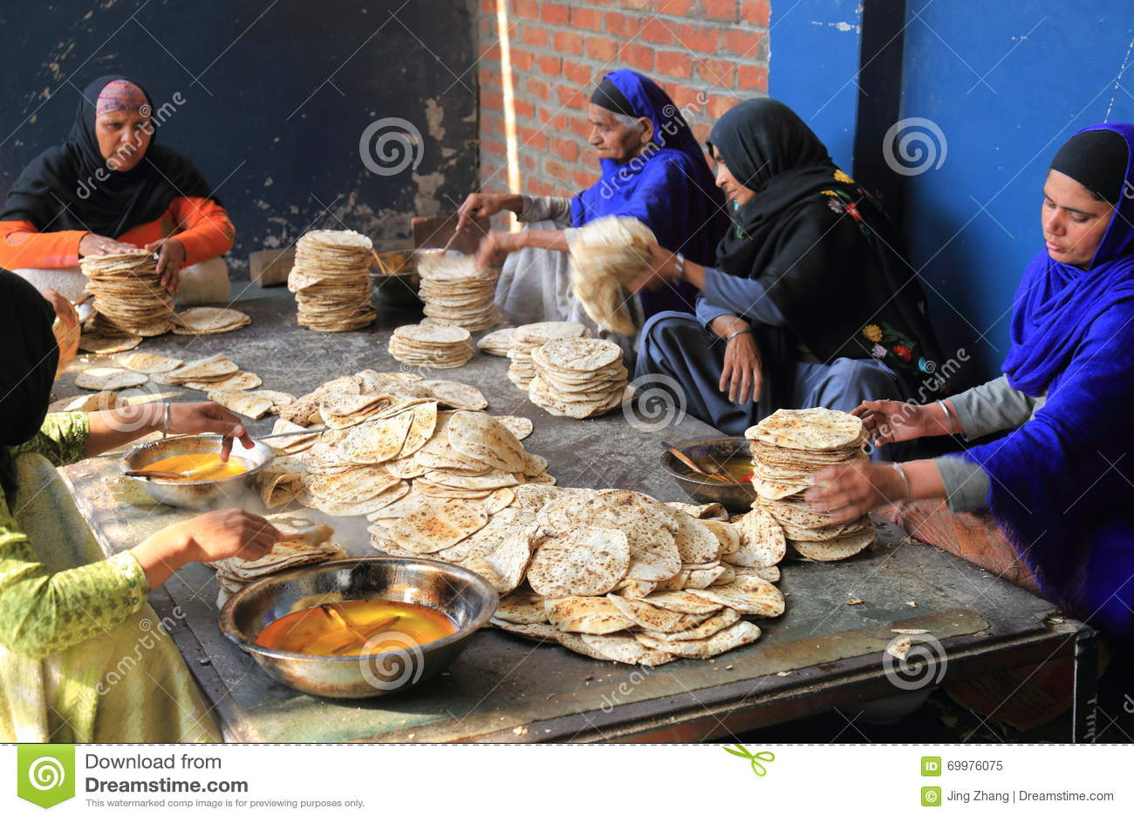 Street kitchen of the world